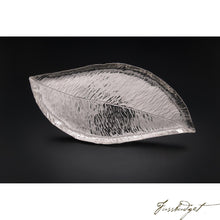 Load image into Gallery viewer, Hand Crafted Silver Magnolia Leaf Tray-Fussbudget.com