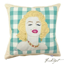 Load image into Gallery viewer, Marilyn Monroe Pillow Custom Made Pillow-Fussbudget.com