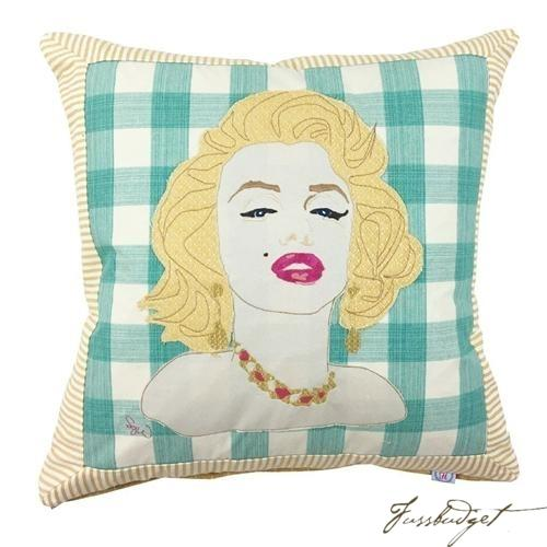 Marilyn Monroe Pillow Custom Made Pillow-Fussbudget.com