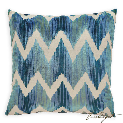Mary Pillow - Blue-Fussbudget.com