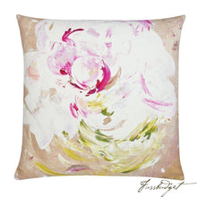 Load image into Gallery viewer, Peony Pop Outdoor Pillow-Fussbudget.com