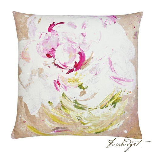 Peony Pop Outdoor Pillow-Fussbudget.com