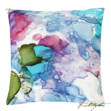 Load image into Gallery viewer, Petunias Outdoor Pillow-Fussbudget.com