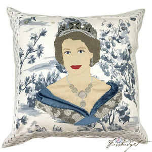 Queen Elizabeth II Custom Made Pillow