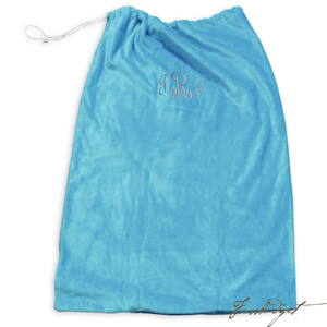 Personalized Laundry Bag-Terry Velour (Monogram or Name)-Fussbudget.com