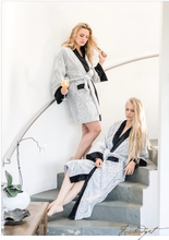 Load image into Gallery viewer, Luxury Shorty Spa Robe