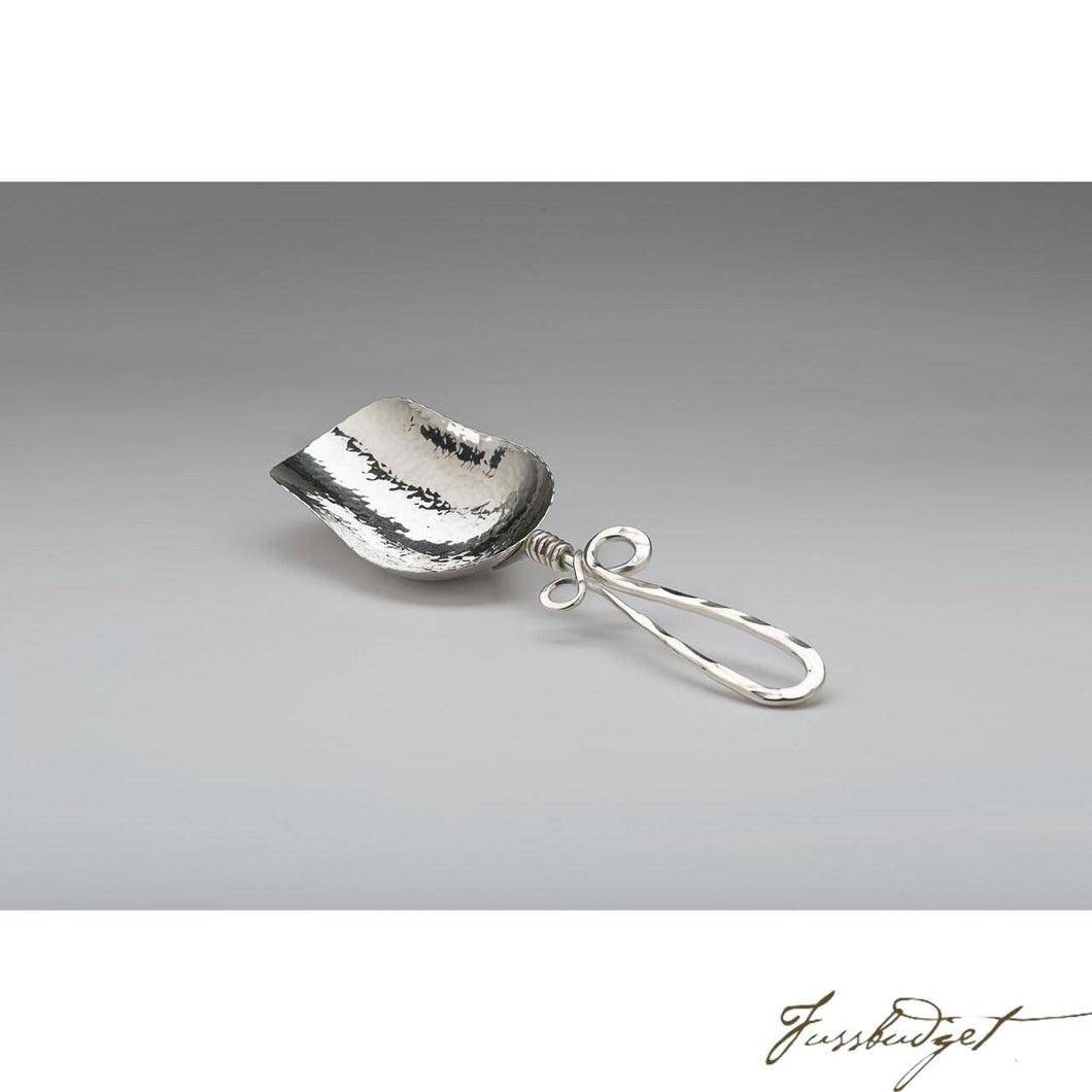 Hand Crafted Silver Large Ice Scoop-Fussbudget.com