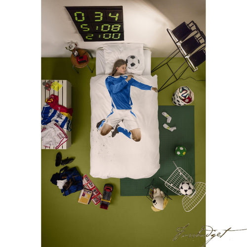 Soccer Player Duvet Cover Set - Free Shipping-Fussbudget.com