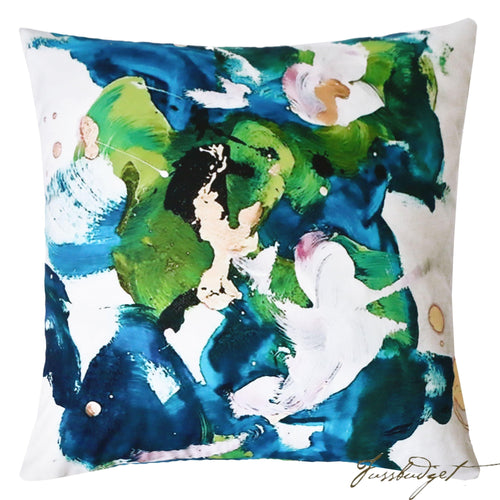 Splish Splash Outdoor Pillow-Fussbudget.com