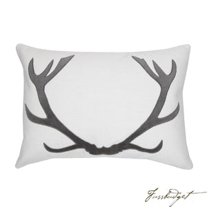Vixen Pillow - Charcoal-Fussbudget.com