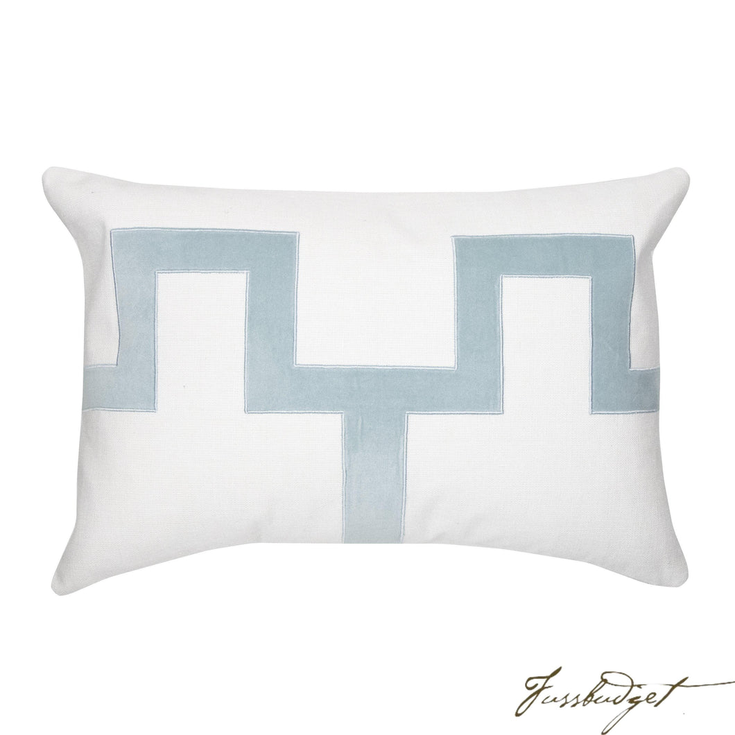 Weston Pillow - Blue-Fussbudget.com