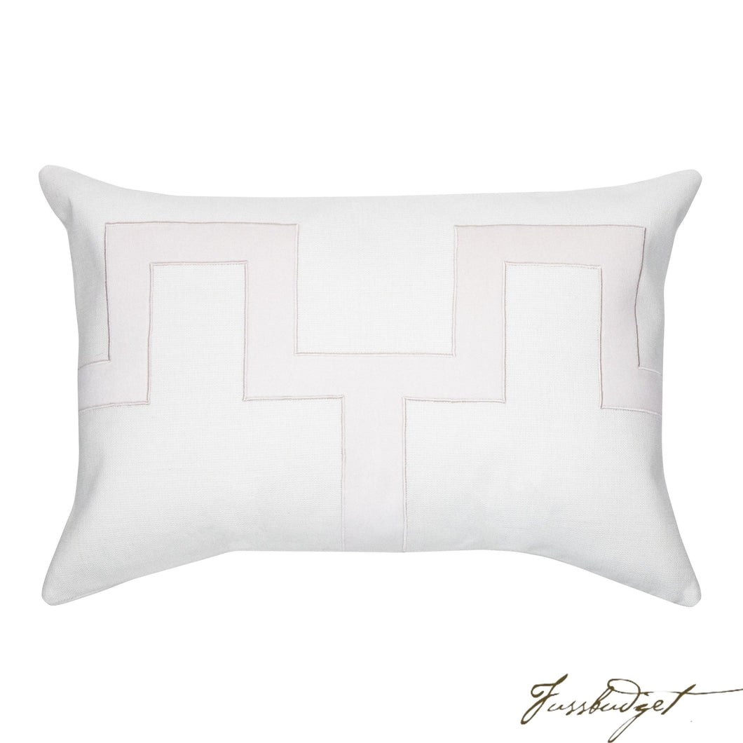 Weston Pillow - Blush-Fussbudget.com