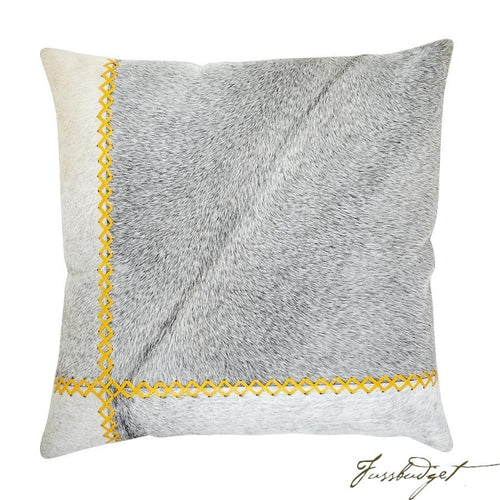 Windsor Pillow - Yellow-Fussbudget.com