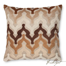 Load image into Gallery viewer, Bella Pillow - Chocolate-Fussbudget.com