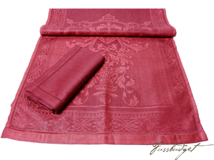 Table Runner - Claret