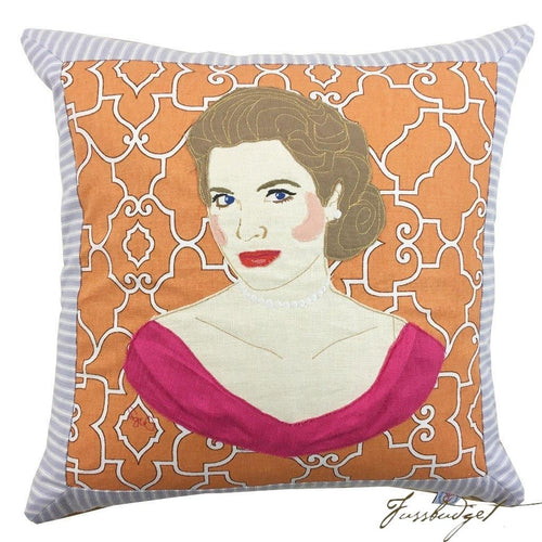 Grace Kelly Custom Pillow