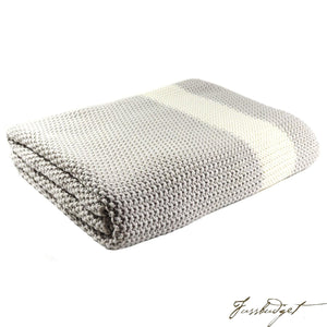Cotton Throw Blanket - Marici Collection-Fussbudget.com