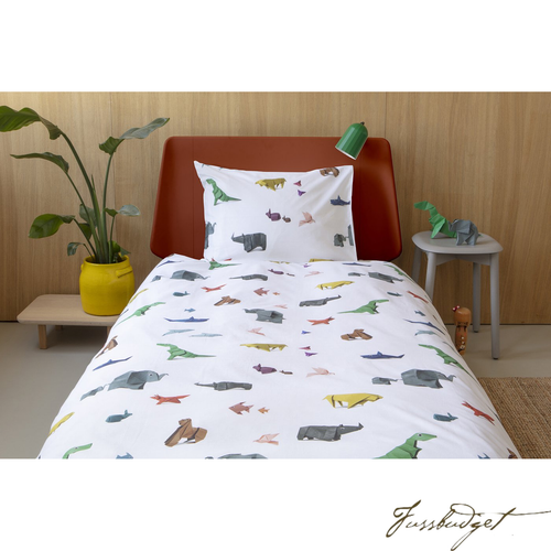 PAPER ZOO DUVET COVER SET