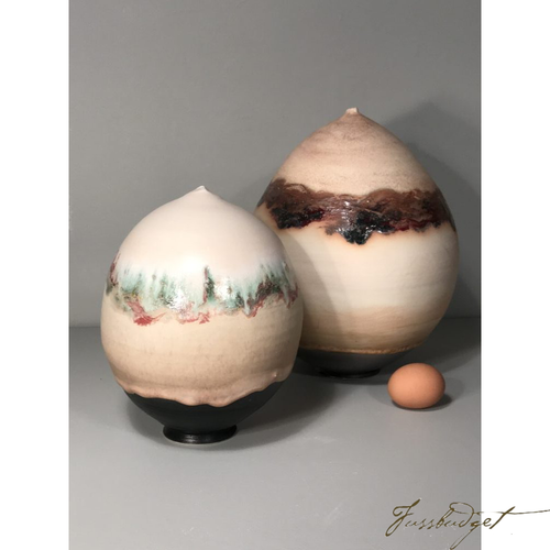 Closed Form Egg Vases by Tom Turnbull price is per Closed Form Egg-Fussbudget.com