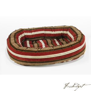 Bowser Stripe Donut Bed-Fussbudget.com