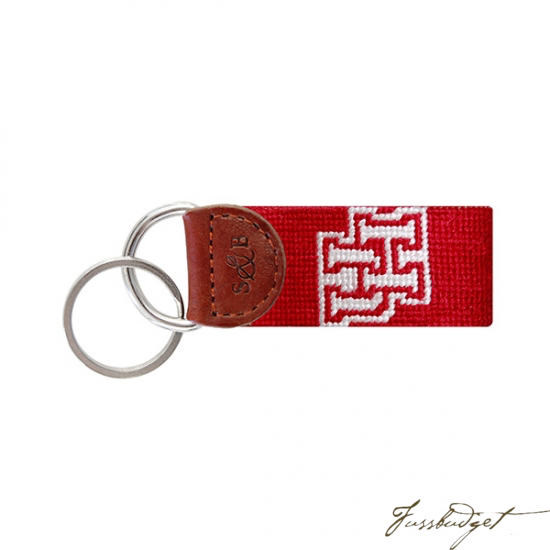 University of Houston Needlepoint Key Fob-Fussbudget.com