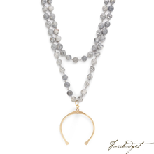 Load image into Gallery viewer, TALLULAH NECKLACE | NAVY JASPER-Fussbudget.com