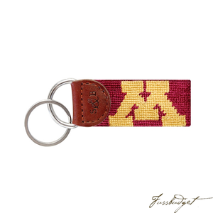 University of Minnesota Needlepoint Key Fob-Fussbudget.com
