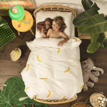 Load image into Gallery viewer, Go Bananas Duvet Cover Set - Free Shipping-Fussbudget.com