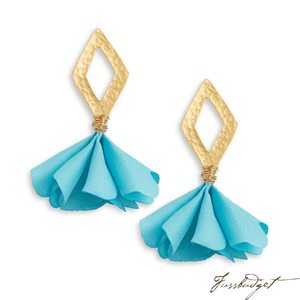 TINSLEY EARRINGS | AQUA BLUE