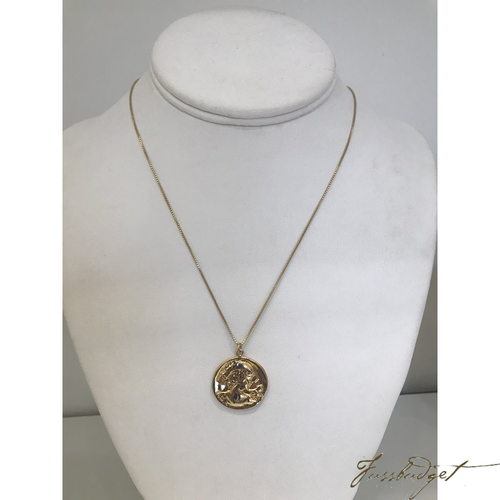 COIN NECKLACE | LARGE-Fussbudget.com