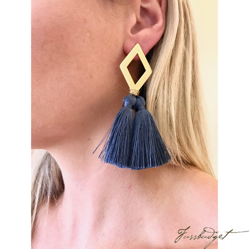 OLIVIA EARRINGS | Ever Alice | MULTIPLE COLORS-Fussbudget.com
