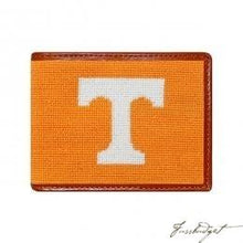 Load image into Gallery viewer, University of Tennessee Needlepoint Wallet