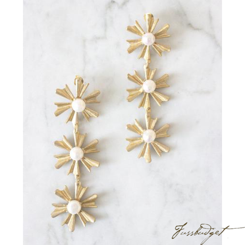 ALLIE EARRINGS | PEARL