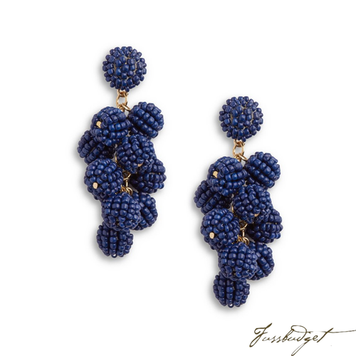 SERENA EARRINGS | NAVY
