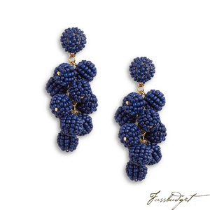 SERENA EARRINGS | NAVY-Fussbudget.com