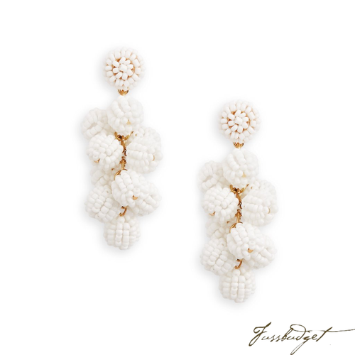 SERENA EARRINGS | WHITE