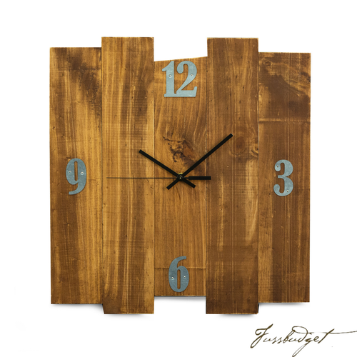 Barn Rustic Wood Wall Clock size 16