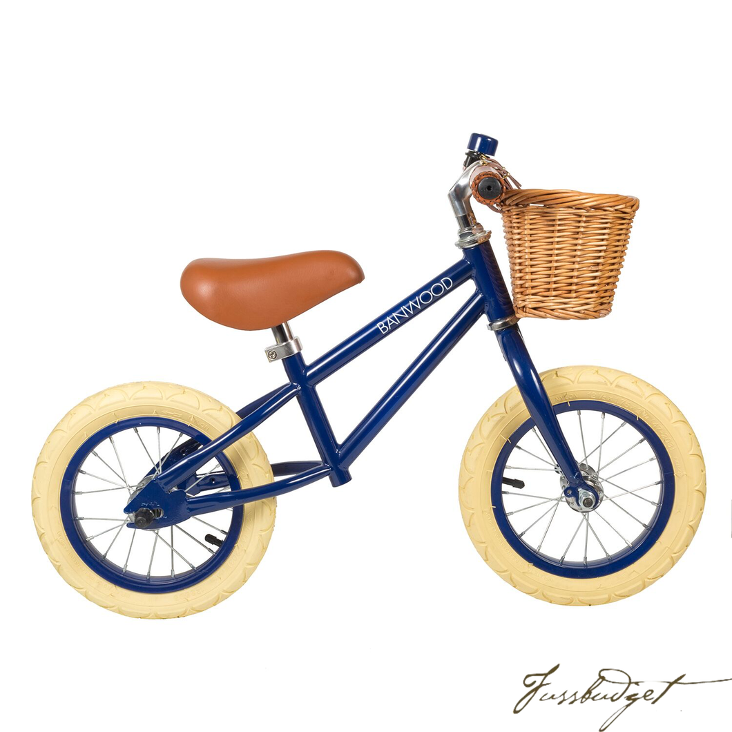First Go! Navy Blue - Balance Bike-Fussbudget.com