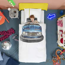 Load image into Gallery viewer, Bumper Car Duvet Cover Set - Free Shipping-Fussbudget.com