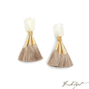 EMMA EARRINGS | TAUPE-Fussbudget.com