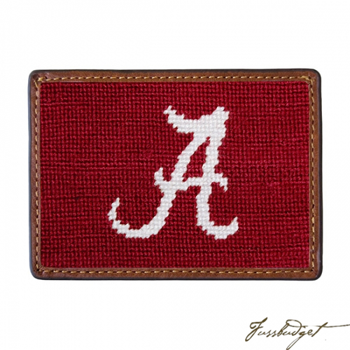 University of Alabama Needlepoint Wallet