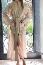 Load image into Gallery viewer, LUXE LINEN LONG ROBE