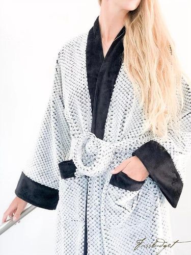 LUXURY SPA LONG ROBE