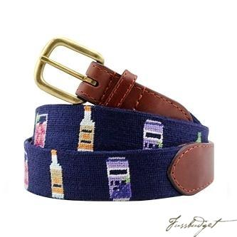 Make a Transfusion Needlepoint Belt