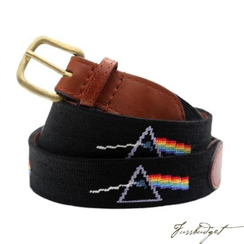 Pink Floyd Needlepoint Belt