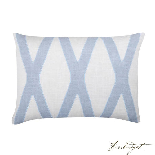 Dominick Pillow - Pale Blue-Fussbudget.com
