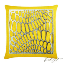 Load image into Gallery viewer, Emerson Pillow - Yellow-Fussbudget.com