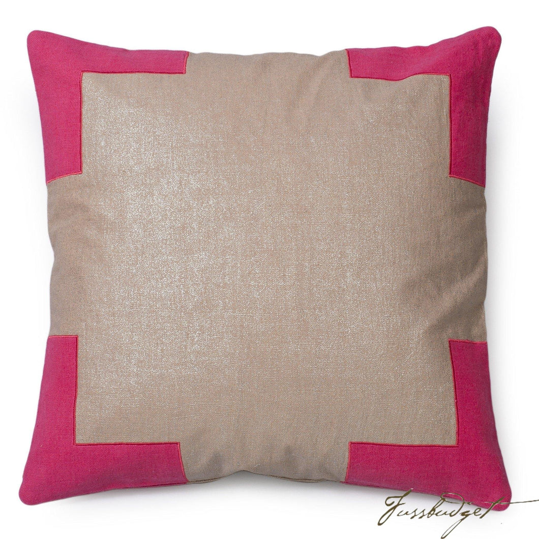 Tracy Pillow - Paradise Pink-Fussbudget.com