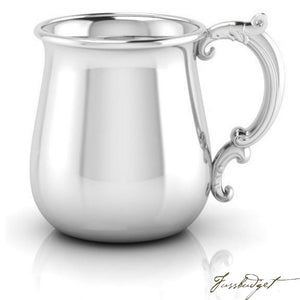 Sterling Silver Baby Bulge Victorian Cup-Fussbudget.com
