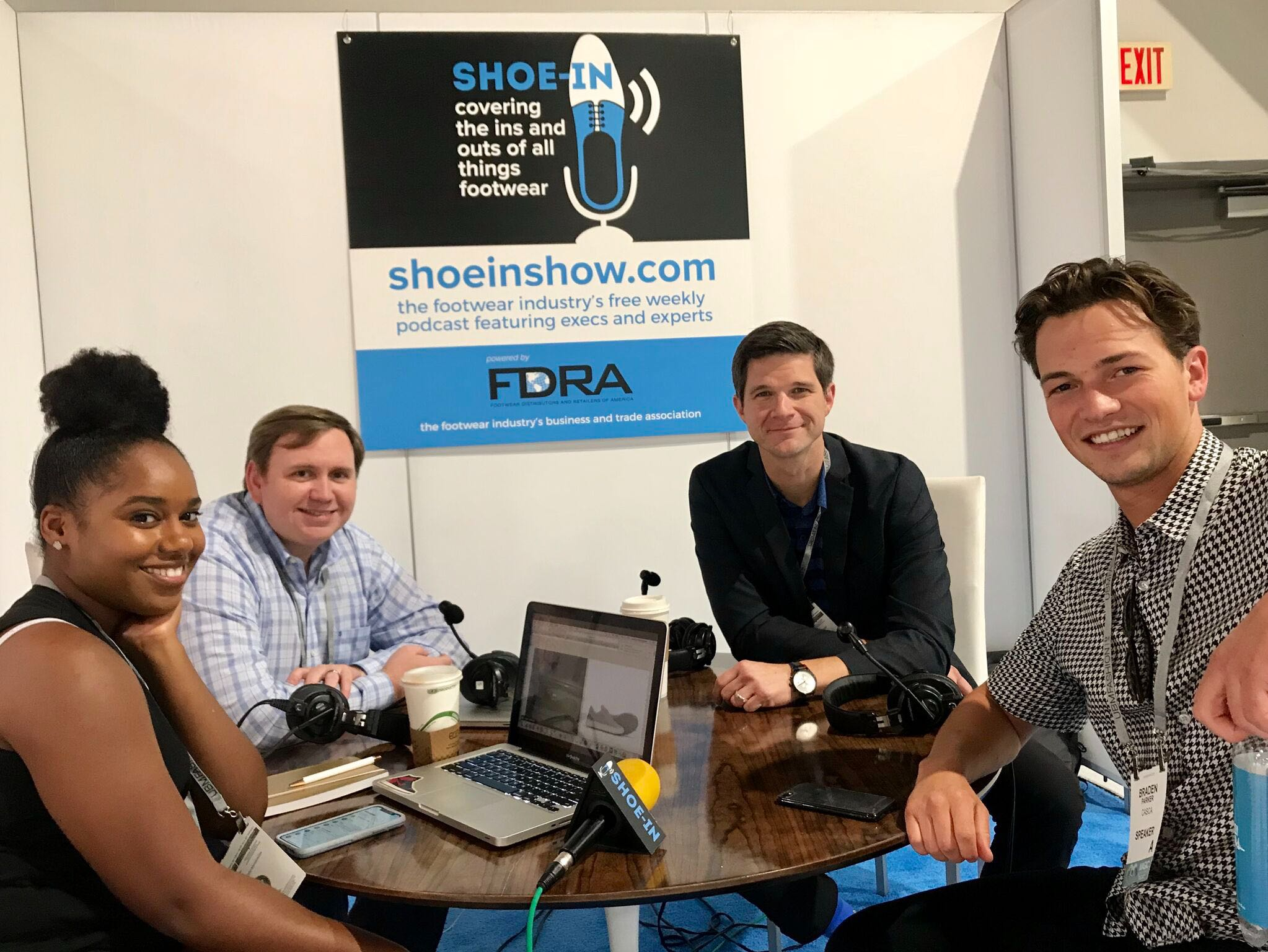 Casca Shoe-in Podcast with FDRA
